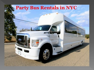 New York Party Bus Rentals