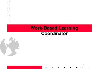 Work-Based Learning Coordinator