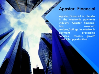 How Appstar Financial Provides Excellent Check Services