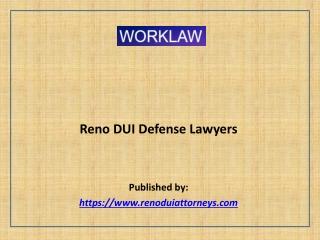Reno DUI Defense Lawyers