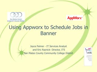 Using Appworx to Schedule Jobs in Banner