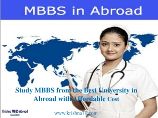 Best Consultancy to Study MBBS in Kyrgyzstan-Krishna MBBS Abroad Consultants