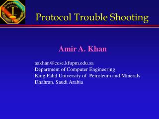 Protocol Trouble Shooting