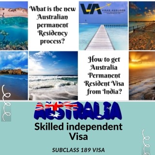 Australia Skilled Independent Visa subclass 189