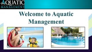 Commercial Salt Water Swimming Pool Service | Aquatic Management