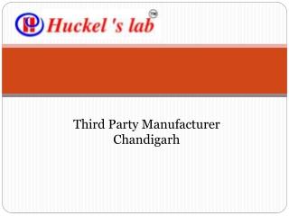 Third Party Manufacturer Chandigarh