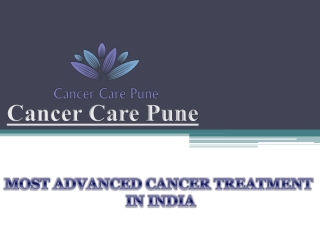 Oncologist in Pune, Cancer Care Pune