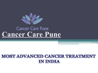 Oncologist in Pune,Cancer Treatment Hospital in Pune