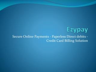 Ezypay - ezypay online
