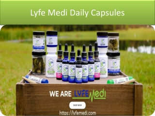 Lyfe Medi DAILY DROPS