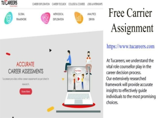 Free Career Test Provides The Right Direction For Career