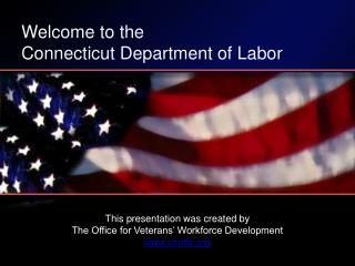 Welcome to the Connecticut Department of Labor