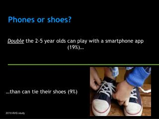 Phones or shoes?