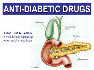 ANTI-DIABETIC DRUGS