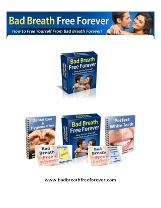 (PDF) Bad Breath Free Forever PDF Free Download: James Williams