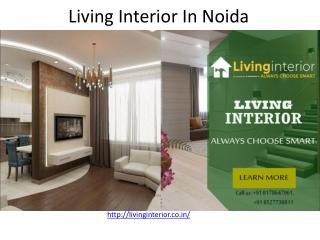 Living Interior In Noida