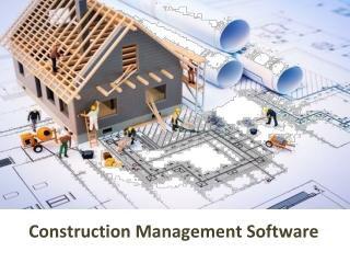 Advance Management System For construction work Sites