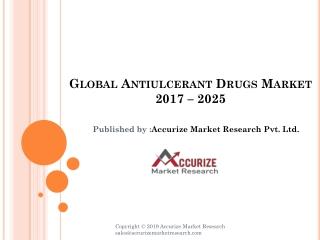 Global Antiulcerant Drugs Market