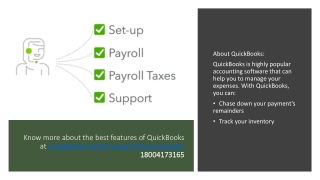 Dial QuickBooks Support Phone Number 18004173165 in case you face any trouble in your software