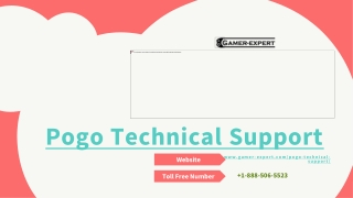 How to Contact Pogo Games Support Number