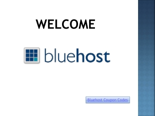 Get Bluehost coupons from Couponsfox