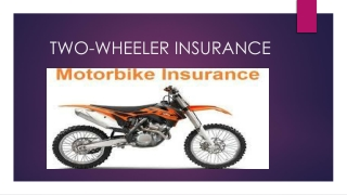 Two Wheeler Insurance: Buy or Renew Bike Insurance Policy Online at Bharti AXA GI