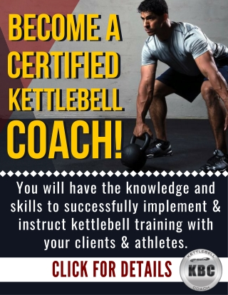 Kettlebell Coach Training and Certification
