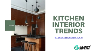 The KITCHEN INTERIOR TREND Mystery Revealed