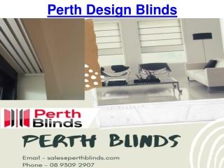 Perth Design Blinds