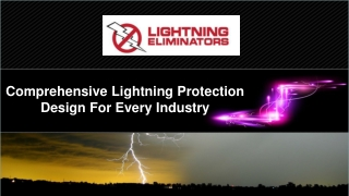 Comprehensive Lightning Protection Design For Every Industry