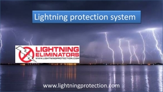 Lightning Protection System That Can Best Save Investments