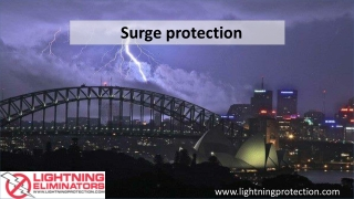 Surge Protection To Divert Secondary Lightning Effects