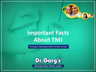 Important Facts about TMJ