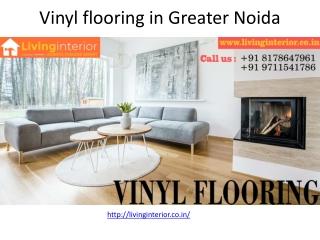 Vinyl Flooring in Greater Noida