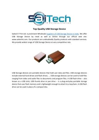 Top Quality USB Storage Device