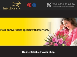 Online Reliable Flower Shop