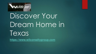Discover Your Dream House in Texas