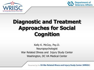 Diagnostic and Treatment Approaches for Social Cognition