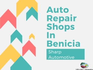 Auto Repair Shops In Benicia
