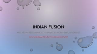Best Indian Restaurant & Takeaway near me in High Street, Lyndhurst