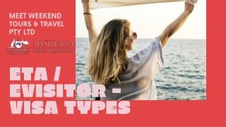 Apply Australia Tourist & Business Visa Online