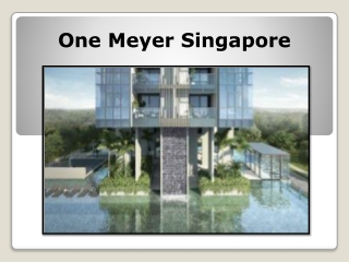 The Great Place - One Meyer Showflat Location