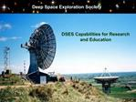 Deep Space Exploration Society