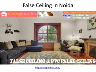 False Ceiling In Noida