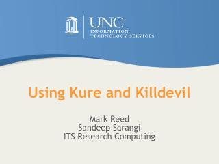 Using Kure and  Killdevil