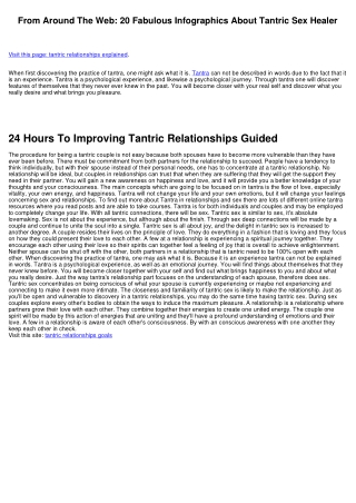 10 Signs You Should Invest In Tantric Relationships Exercise