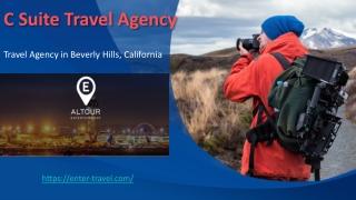 C Suite Travel Agency