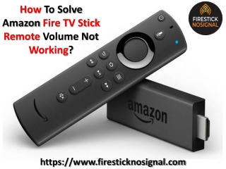 How To Solve Amazon Fire TV Stick Remote? Amazon Fire Remote Stopped Working