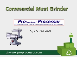 Available all models of Commercial meat grinder | Texas