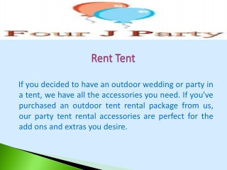 Rent Tent
